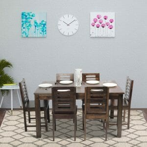 stirling kings 6 seater dining table
