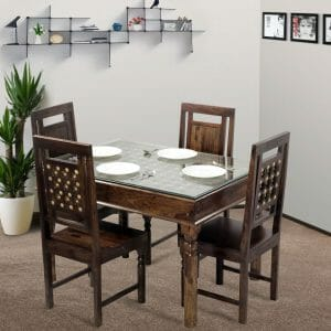 Bodhi 4 Seater Dining Set Lifestyle