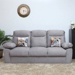 Liana Fabric 2 Seater Sofa (Finish Color - Grey)