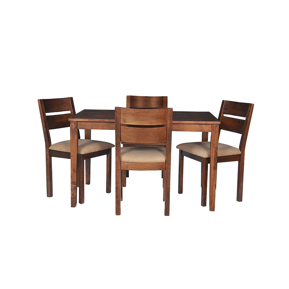Home Envy Furnishings Solid: Buy Envy Solid Wood 4 Seater Dining Table Set Online