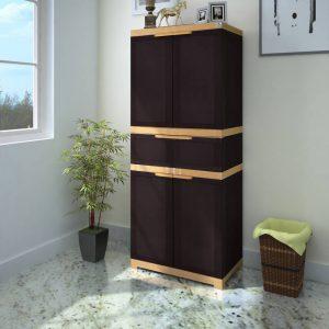 Nilkamal Freedom Medium Storage Plastic Free Standing Cabinet