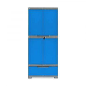 Nilkamal Freedom Mod Storage Plastic Free Standing Cabinet
