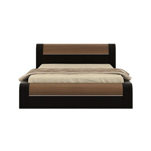 Queen Size Bed.Kosmo Amazon Queen Size Bed With Lift On Storage In Natural Wenge Finish By Spacewood