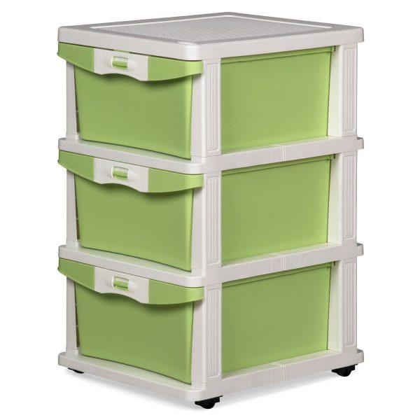 Nilkamal Chester 23 Green Plastic Free Standing Cabinet