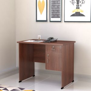 Alpha Engineered Wood Medium Size Office Table