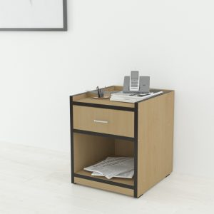 Beta Engineered Wood Bedside Table