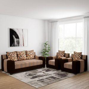 Buy Bally Fabric Sofa Set By Furniture Magik Chennai online