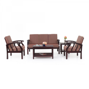 Azalea Solid Wood Sofa Set By Furniture Magik