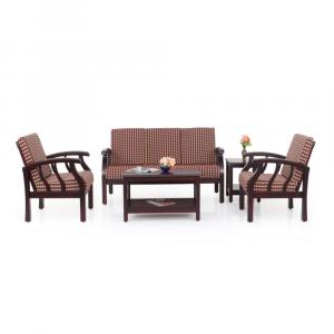 Azalea Solid Wood Sofa Set By Furniture Magik