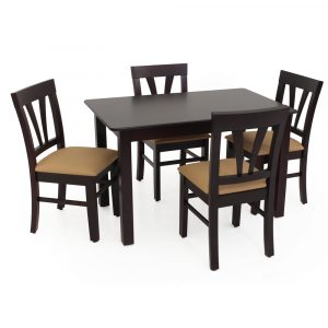 Atlantis Solid Wood 4 Seater Dining Set By Furniture Magik