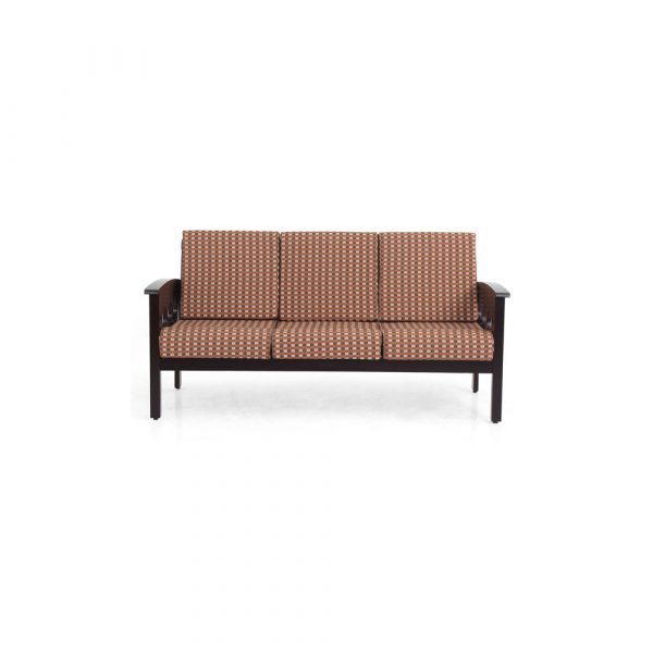 Carnation Solid Wood Three Seater Sofa By Furniture Magik