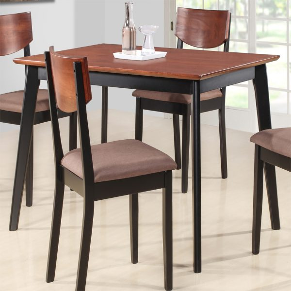 Casey Solid Wood 4 Seater Dining Table Set