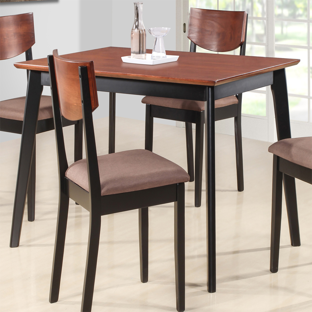Buy Casey Solid Wood 4 Seater Dining Table Set Online