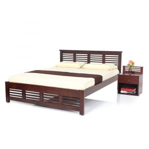 Claire King Size Solid Wood Bed By Furniture Magik