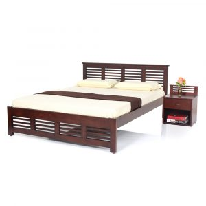 Claire Queen Size Solid Wood Bed By Furniture Magik