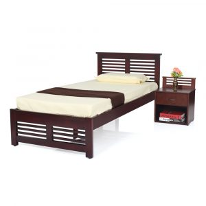 Claire Single Size Solid Wood Bed By Furniture Magik