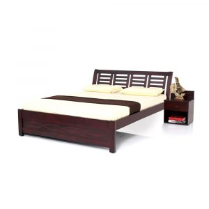 Ellen King Size Solid Wood Bed By Furniture Magik