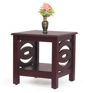 Emerald Solid Wood Side Table By Furniture Magik