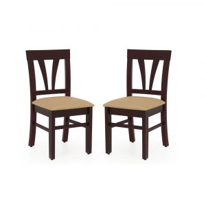 Feather Solid Wood 4 Seater Dining Set By Furniture Magik