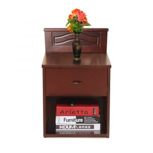 Felicia Solid Wood Bedside Table By Furniture Magik