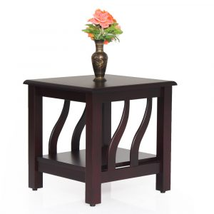 Garnet Solid Wood Side Table By Furniture Magik