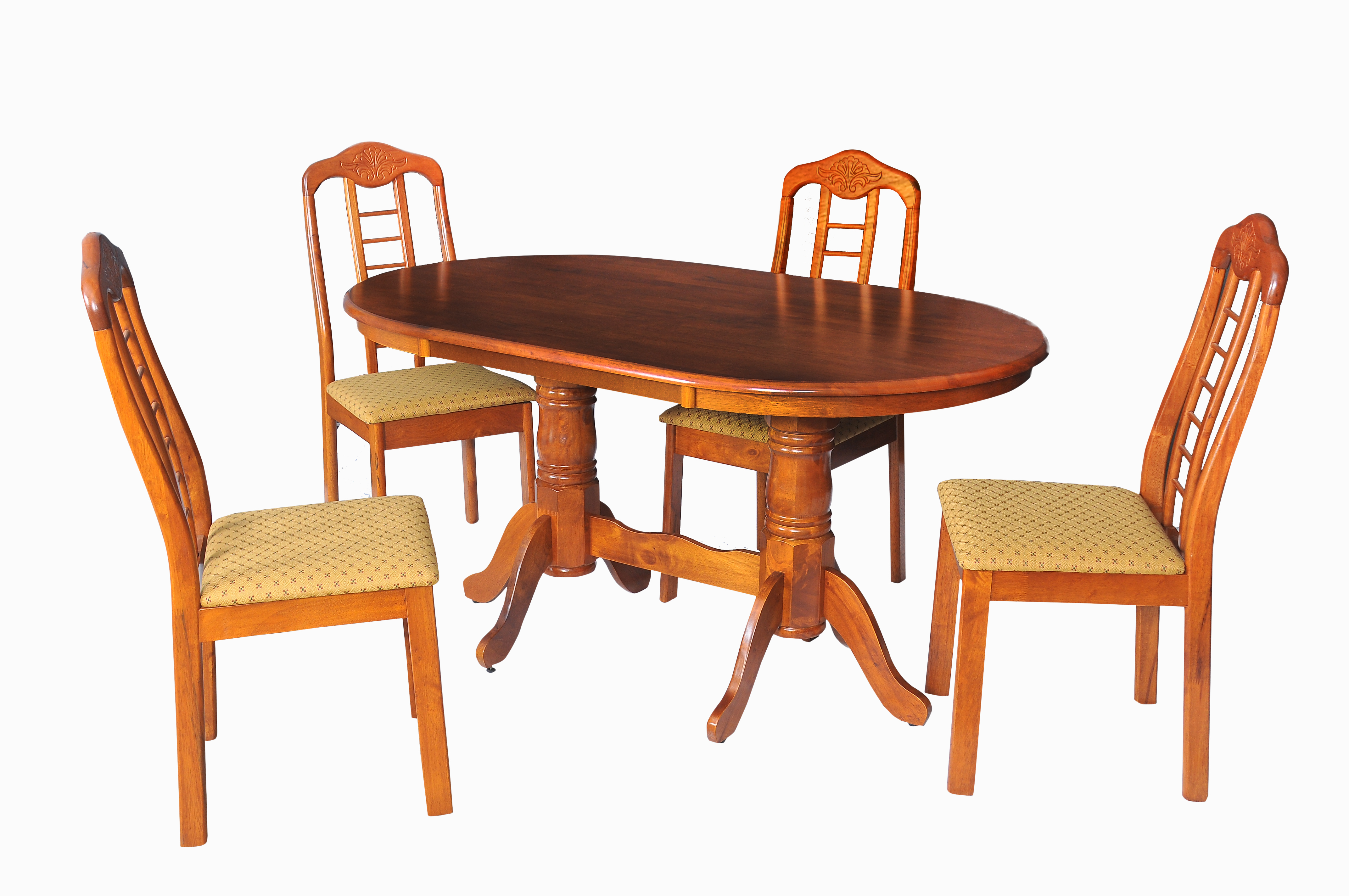Indra Solid Wood 9 Seater Dining Table Set