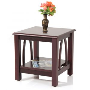 Jasper Solid Wood Side Table By Furniture Magik