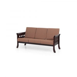 Liatris Solid Wood Three Seater Sofa By Furniture Magik