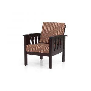Limonium Solid Wood Single Seater Sofa By Furniture Magik