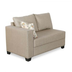 Buy Lisa Fabric 5 Seater Sofa By Furniture Magik Chennai online