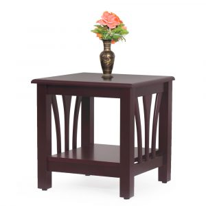 Opal Solid Wood Side Table By Furniture Magik