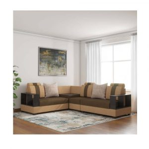 Buy Oxford Corner Fabric 5 Seater Sofa By Furniture Magik