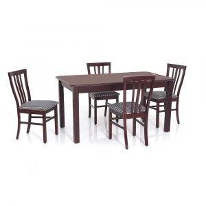 Pacific Solid Wood 4 Seater Dining Set By Furniture Magik