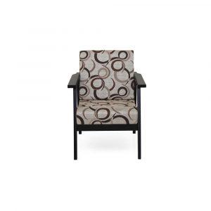 Pothos Solid Wood Single Seater Sofa By Furniture Magik