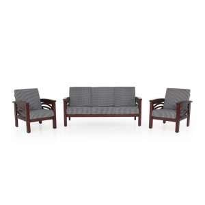 Protea Solid Wood Sofa Set By Furniture Magik