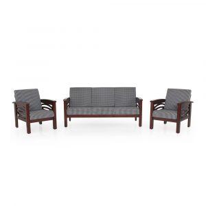 Protea Solid Wood Sofa Set By Furniture Magik