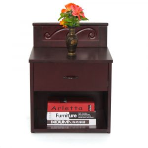 Pullet Solid Wood Bedside Table By Furniture Magik