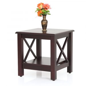 Ruby Solid Wood Side Table By Furniture Magik