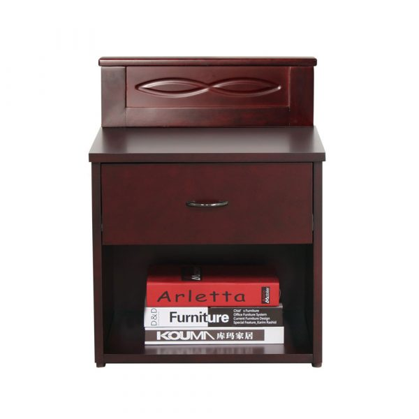 Safari Solid Wood Bedside Table By Furniture Magik