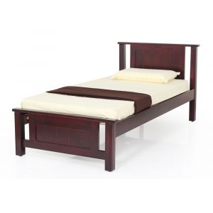 Spade Single Size Solid Wood Bed By Furniture Magik