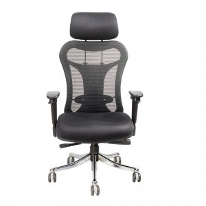 Symphony Mesh Fix Headrest Back Chair C005 by Furniture Magik