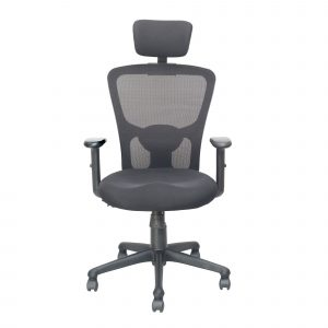 Symphony Mesh Fix Headrest Back Chair C008 by Furniture Magik