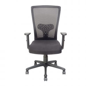 Symphony Mesh Fix Medium Back Chair C002 by Furniture Magik