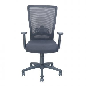 Symphony Mesh Fix Medium Back Chair C004 by Furniture Magik