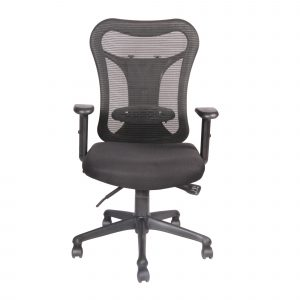 Symphony Mesh Fix Medium Back Chair C006 by Furniture Magik
