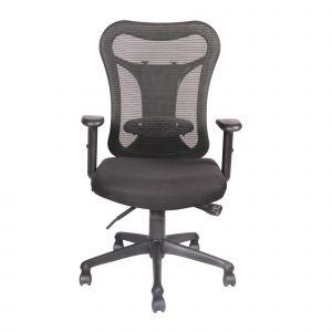 Symphony Mesh Fix Medium Back Chair C006 by Furniture Magik