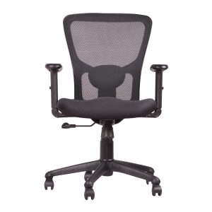 Symphony Mesh Fix Medium Back Chair C009 by Furniture Magik