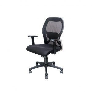 Symphony Mesh Fix Medium Back Chair C019 by Furniture Magik