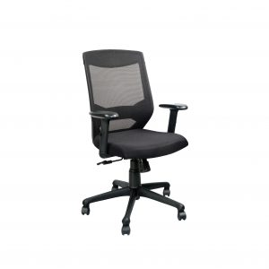 Symphony Mesh Fix Medium Back Chair C026 by Furniture Magik