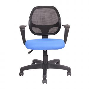 Symphony Mesh Fix Revolving Chair C007 by Furniture Magik